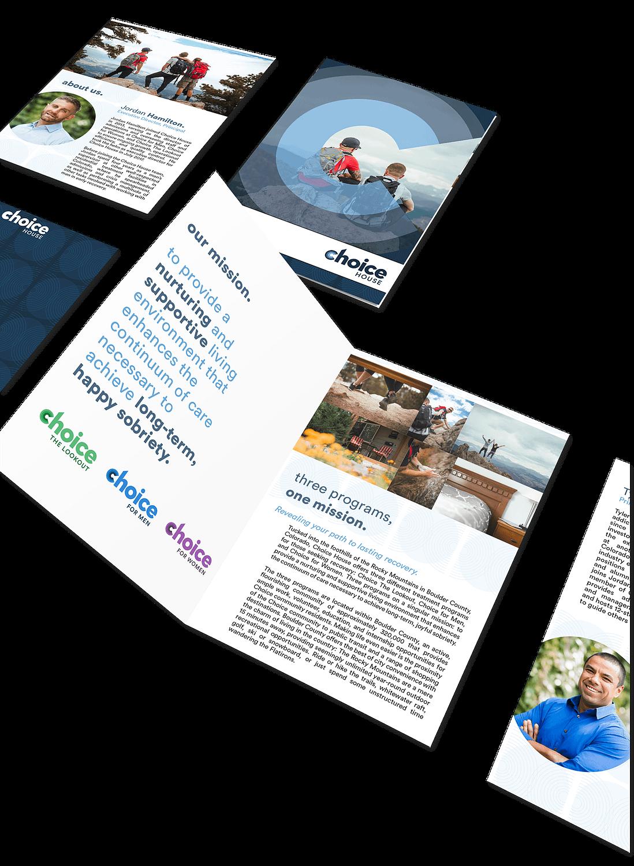 choice house brochure design
