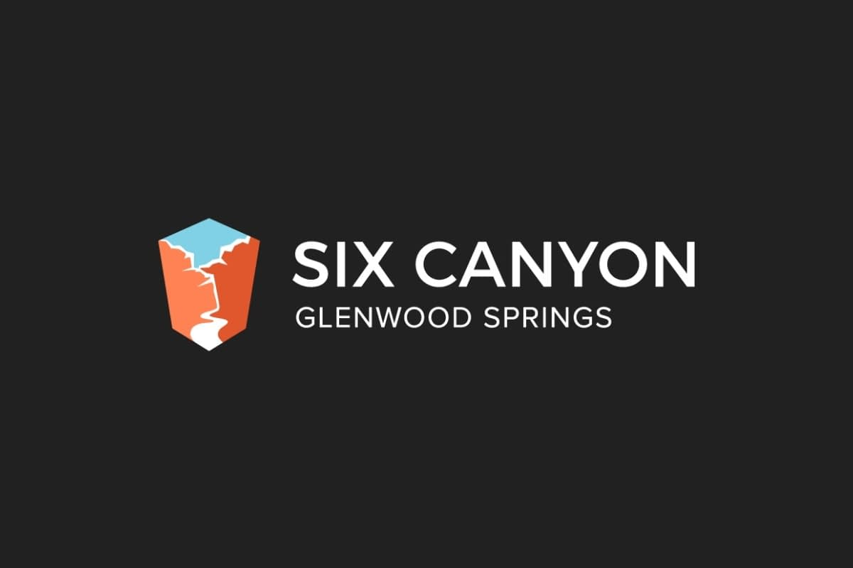 six canyon apartments logo design