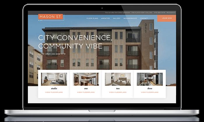 Mason Flats Apartment website