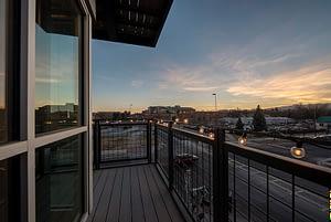 Flats Balcony Exterior photo