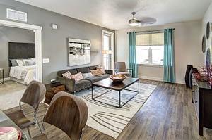 CityScape Apartment Living Room Interior