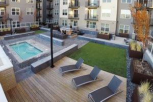 CityScape Apartments Exterior shot