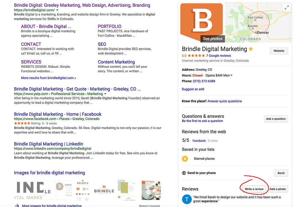 How to find the direct link to your google my business listing