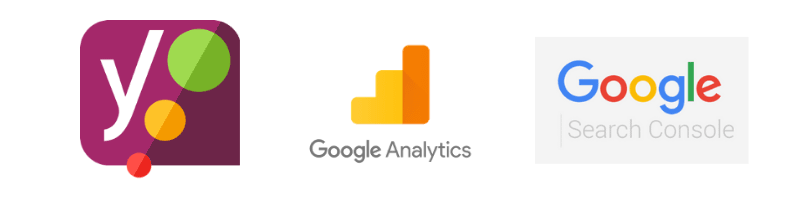 Yoast, Google Analytics, Google Search Console