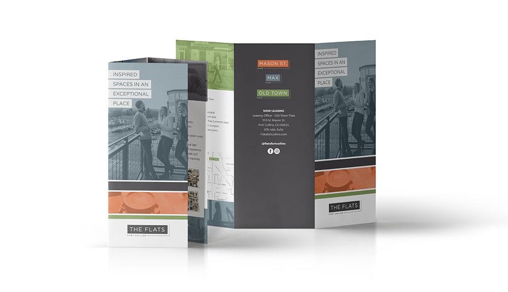 Apartment marketing brochure